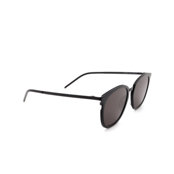 Saint Laurent® Square Sunglasses: SL 375 SLIM color Black 002.