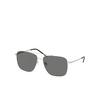 Saint Laurent® Aviator Sunglasses: SL 376 SLIM color Silver 001 - product thumbnail 2/2.
