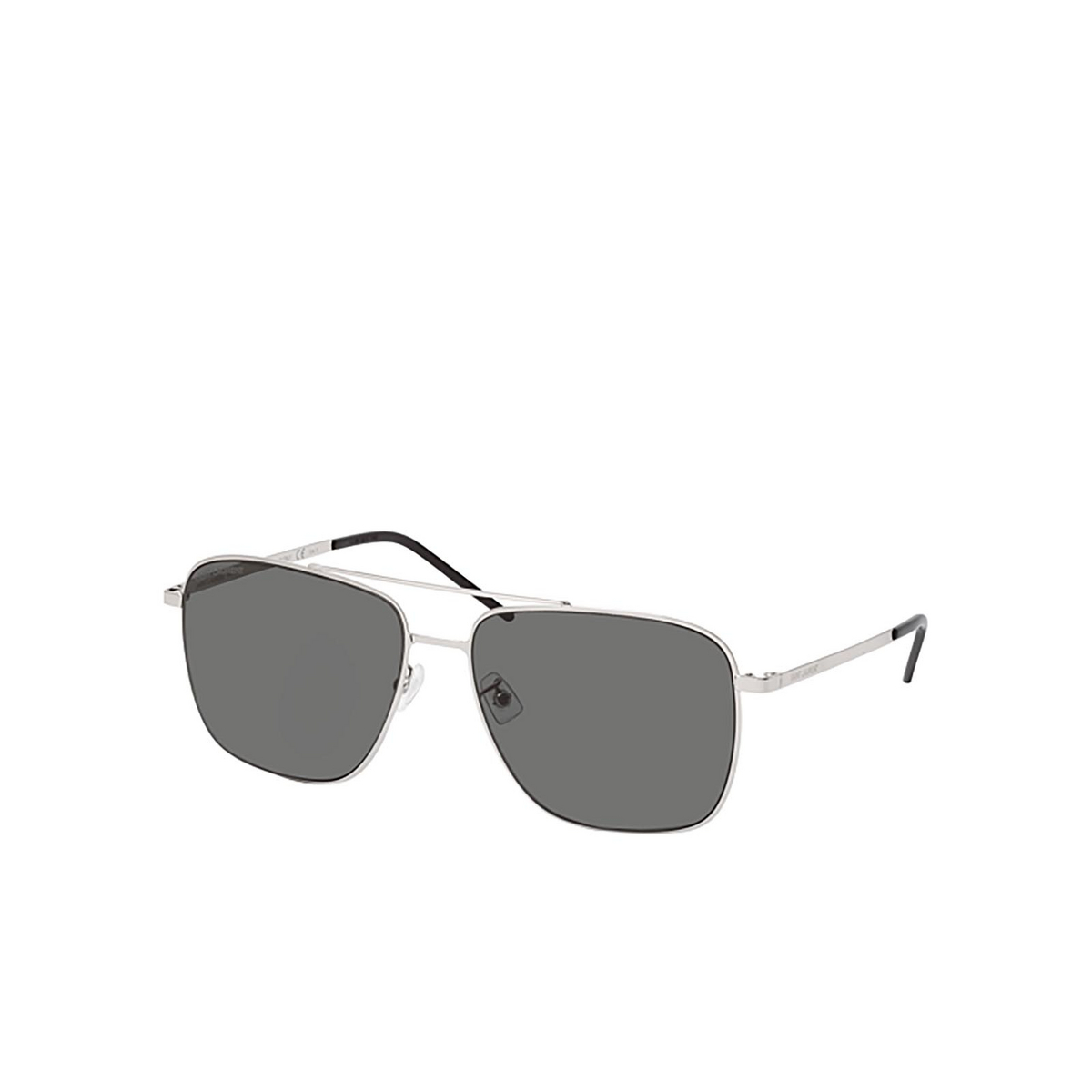 Saint Laurent® Aviator Sunglasses: SL 376 SLIM color Silver 001 - 2/2.