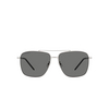 Saint Laurent® Aviator Sunglasses: SL 376 SLIM color Silver 001 - product thumbnail 1/2.