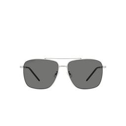 Saint Laurent® Aviator Sunglasses: SL 376 SLIM color Silver 001.