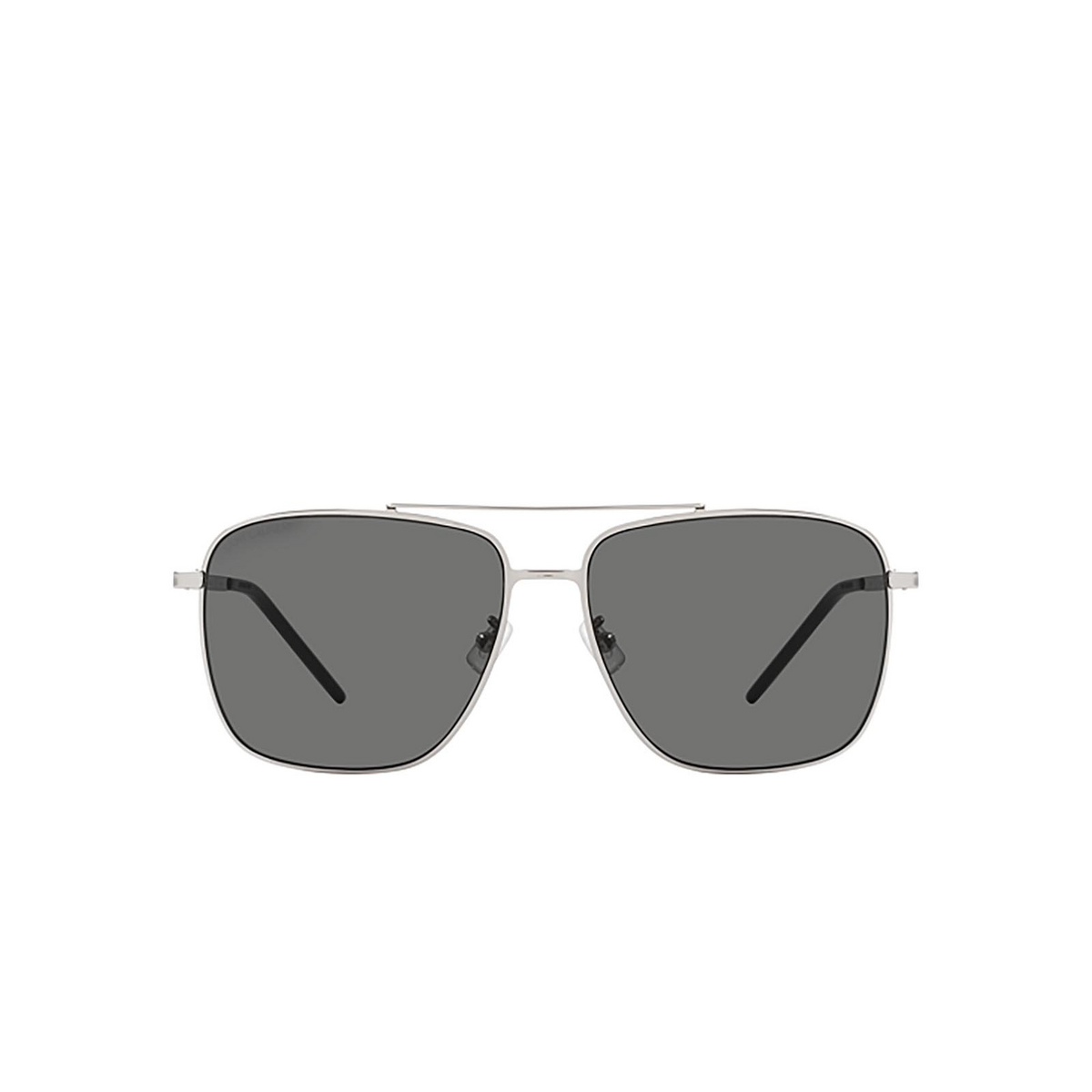 Saint Laurent® Aviator Sunglasses: SL 376 SLIM color Silver 001 - 1/2.
