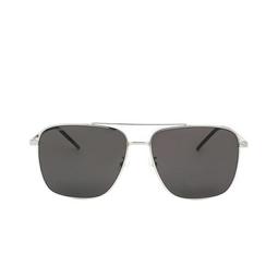 Saint Laurent® Aviator Sunglasses: SL 376 SLIM color Silver 004.