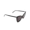 Saint Laurent® Cat-eye Sunglasses: SL 384 color Black 001 - product thumbnail 2/3.