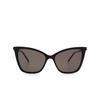 Saint Laurent® Cat-eye Sunglasses: SL 384 color Black 001 - product thumbnail 1/3.