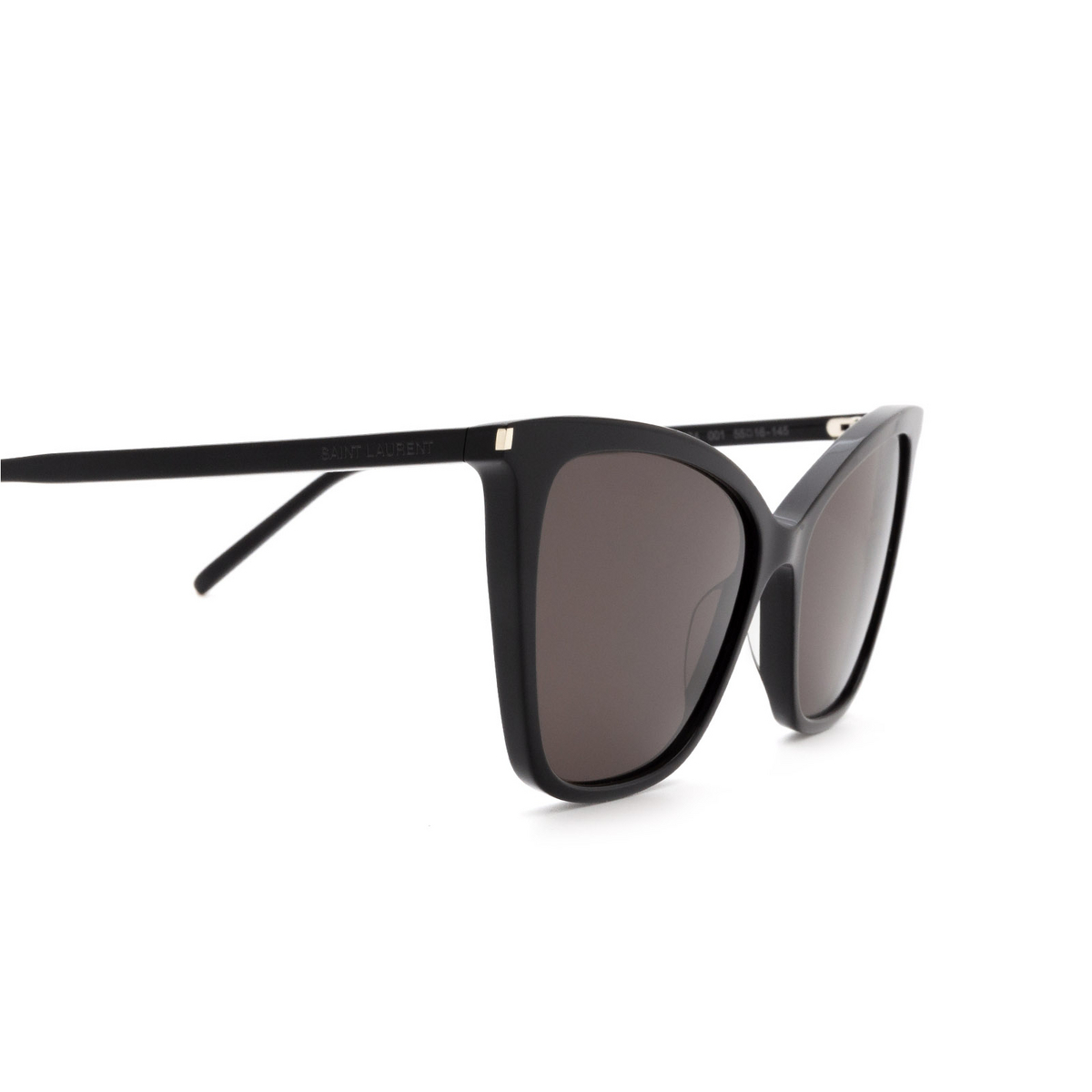Saint Laurent® Cat-eye Sunglasses: SL 384 color Black 001 - 3/3.
