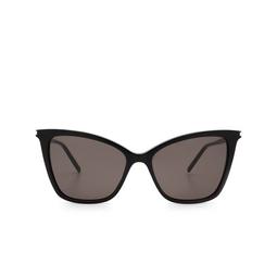 Saint Laurent® Cat-eye Sunglasses: SL 384 color Black 001.