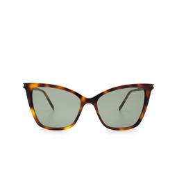 Saint Laurent® Cat-eye Sunglasses: SL 384 color Havana 002.