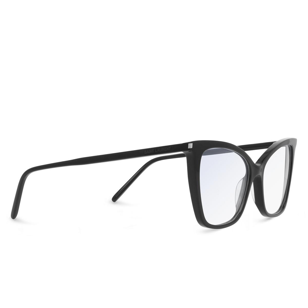 Saint Laurent® Cat-eye Eyeglasses: SL 386 color Black 001.