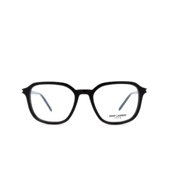 Saint Laurent® Square Eyeglasses: SL 387 color Black 001.