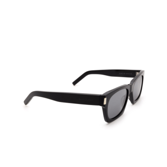 Saint Laurent® Rectangle Sunglasses: SL 402 color Black 002.