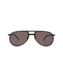 Saint Laurent® Sunglasses: SL 416 MASK color Black 002.