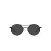 Saint Laurent® Round Sunglasses: SL 421 color Black 001 - product thumbnail 1/2.