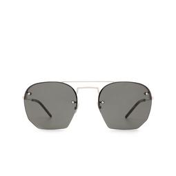 Saint Laurent® Irregular Sunglasses: SL 422 color Silver 003.