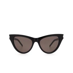 Saint Laurent® Cat-eye Sunglasses: SL 425 color Black 001.