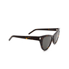 Saint Laurent® Cat-eye Sunglasses: SL 425 color Havana 002 - product thumbnail 2/3.