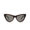 Saint Laurent® Cat-eye Sunglasses: SL 425 color Havana 002 - product thumbnail 1/3.
