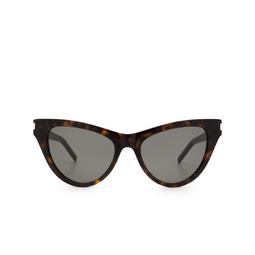 Saint Laurent® Cat-eye Sunglasses: SL 425 color Havana 002.