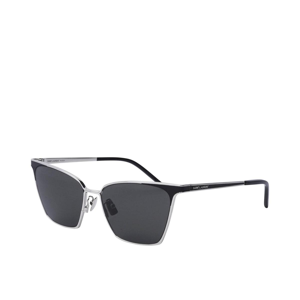 Saint Laurent® Square Sunglasses: SL 429 color Silver 001 - 2/2.