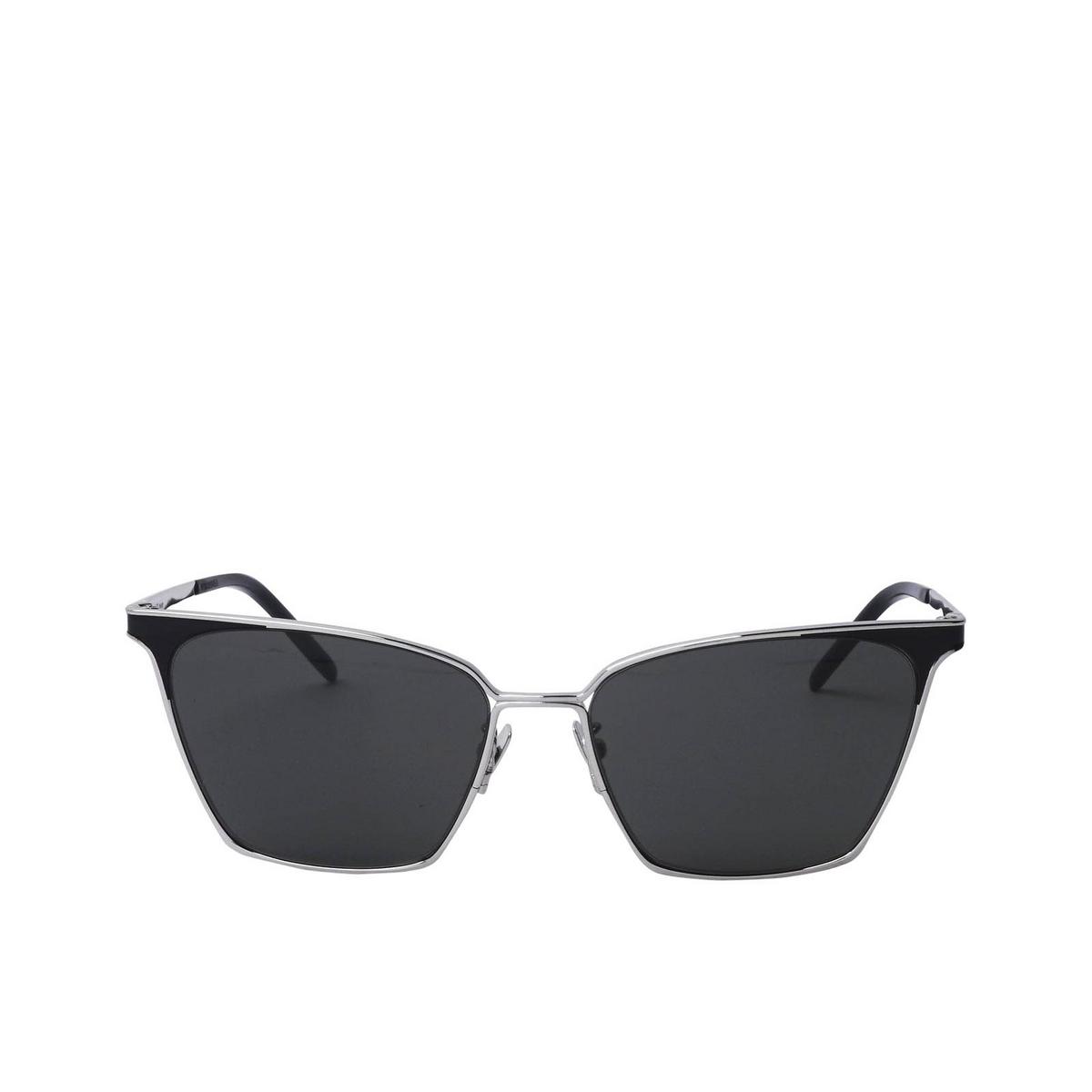 Saint Laurent® Square Sunglasses: SL 429 color Silver 001 - 1/2.