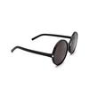 Saint Laurent® Round Sunglasses: SL 450 color Black 001 - product thumbnail 2/3.