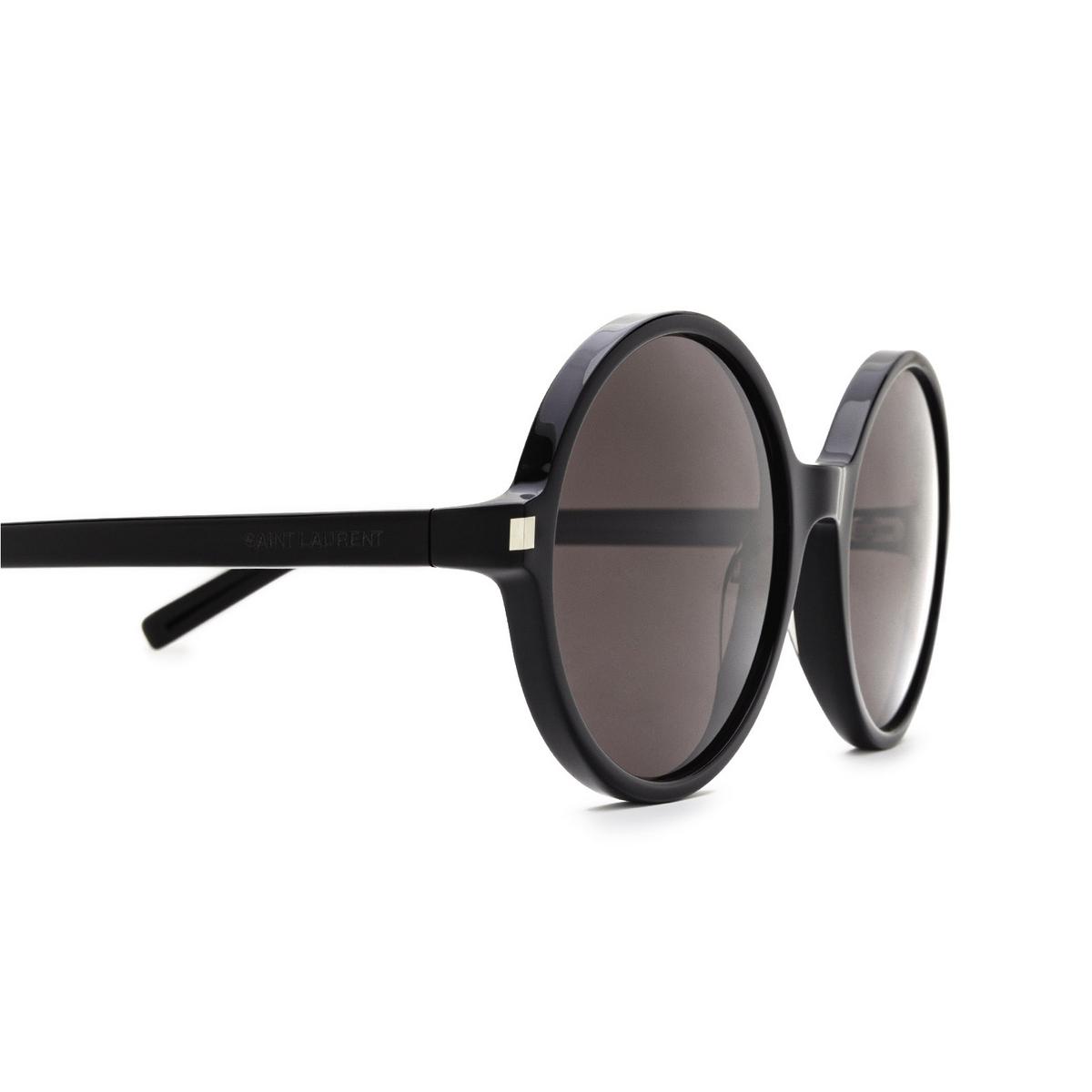 Saint Laurent® Round Sunglasses: SL 450 color Black 001 - 3/3.