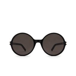 Saint Laurent® Round Sunglasses: SL 450 color Black 001.