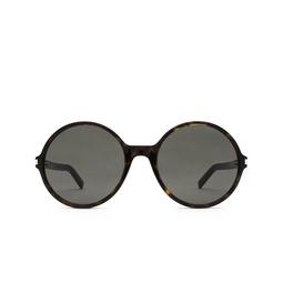 Saint Laurent® Round Sunglasses: SL 450 color Dark Havana 002.
