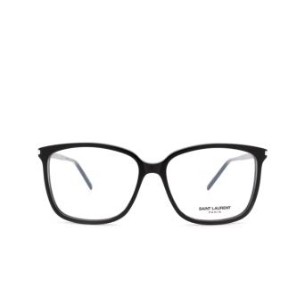 Saint Laurent® Square Eyeglasses: SL 453 color Black 001.