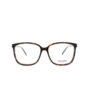 Saint Laurent® Square Eyeglasses: SL 453 color Dark Havana 002.