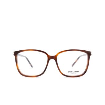 Saint Laurent® Square Eyeglasses: SL 453 color Havana 003.