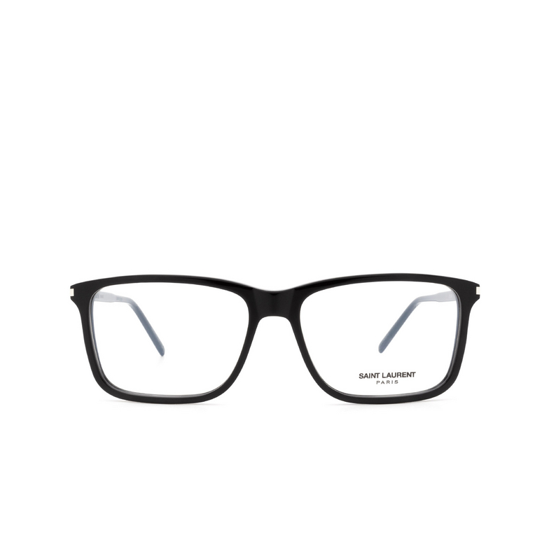 Saint Laurent® Rectangle Eyeglasses: SL 454 color Black 001.