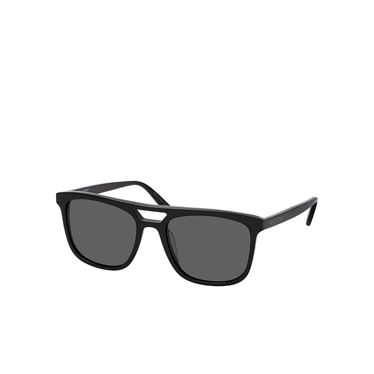 Saint Laurent® Square Sunglasses: SL 455 color Black 001 - three-quarters view.