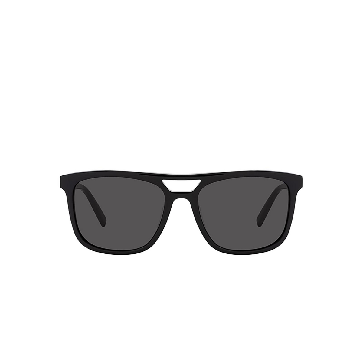 Saint Laurent® Square Sunglasses: SL 455 color Black 001 - front view.