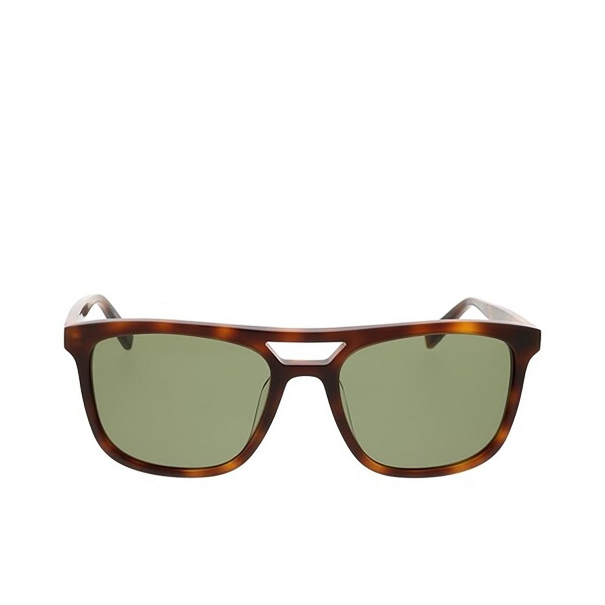 Saint Laurent® Square Sunglasses: SL 455 color Havana 002 - front view.