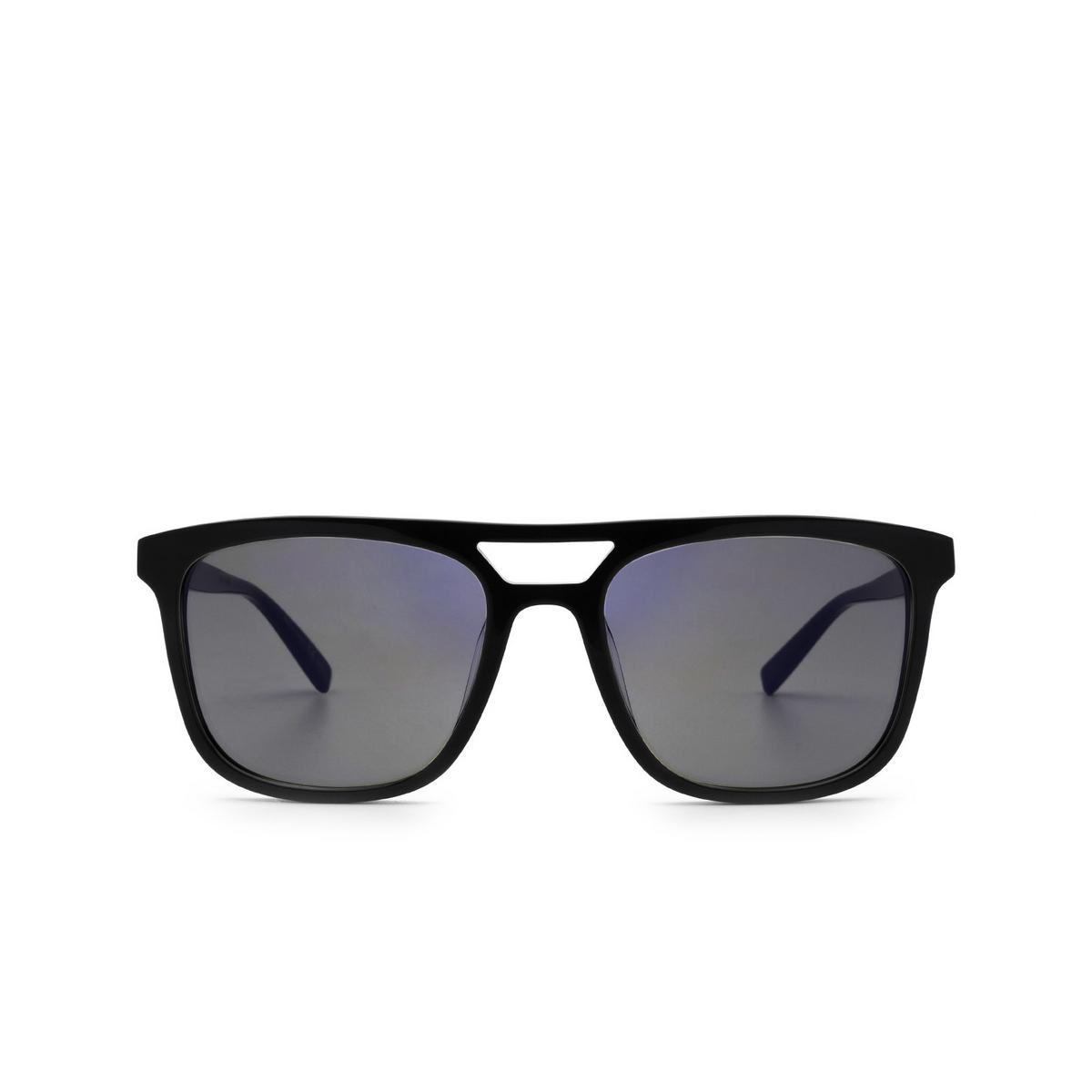 Saint Laurent® Rectangle Sunglasses: SL 455 color Black 005 - front view.