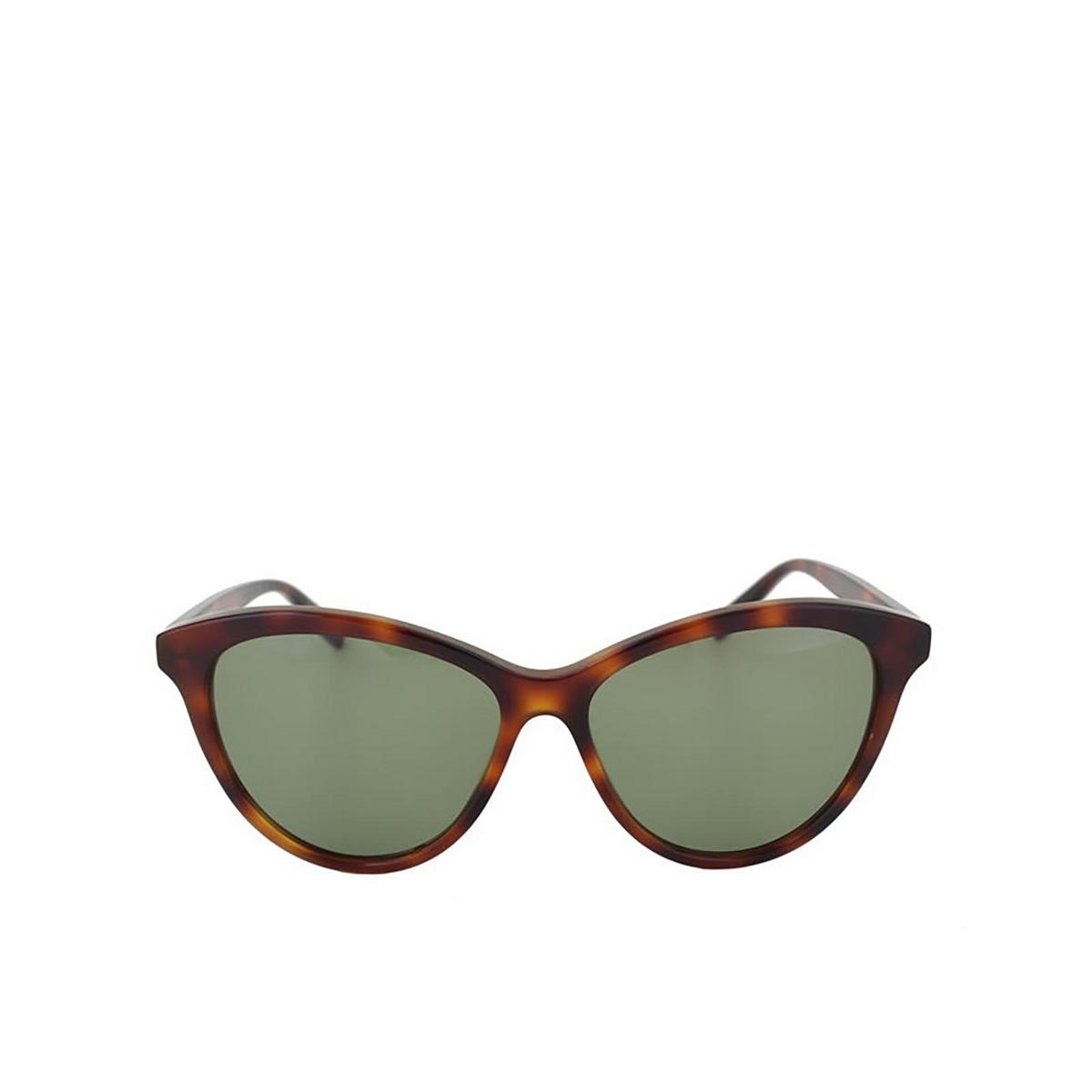 Saint Laurent® Cat-eye Sunglasses: SL 456 color Havana 002 - front view.