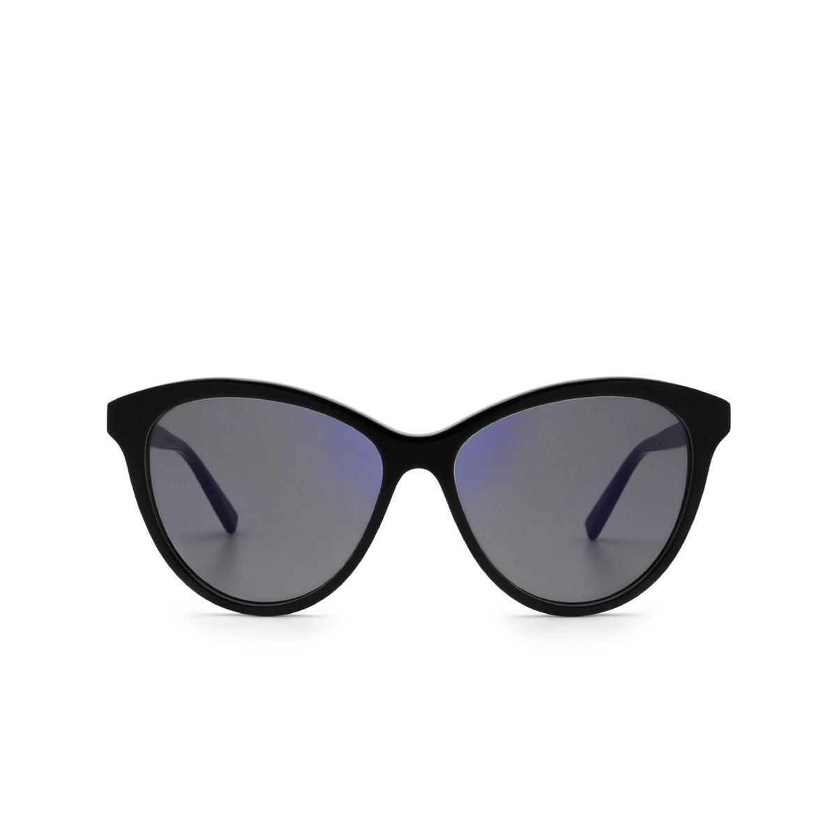 Saint Laurent® Cat-eye Sunglasses: SL 456 color Black 005 - front view.