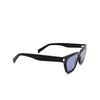 Saint Laurent® Cat-eye Sunglasses: Sulpice SL 462 color Black 010 - product thumbnail 2/3.