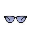 Saint Laurent® Cat-eye Sunglasses: Sulpice SL 462 color Black 010 - product thumbnail 1/3.