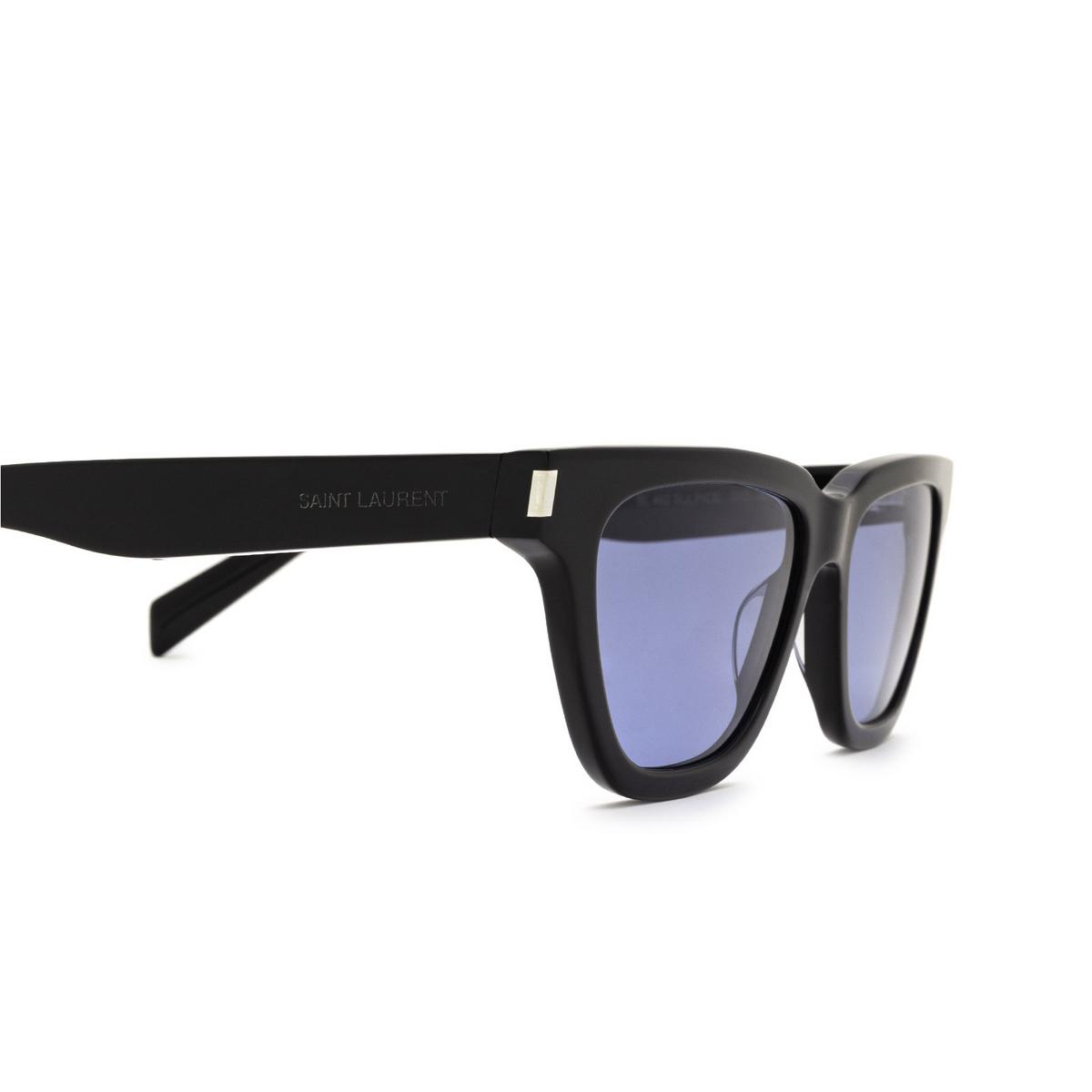 Saint Laurent® Cat-eye Sunglasses: Sulpice SL 462 color Black 010 - 3/3.