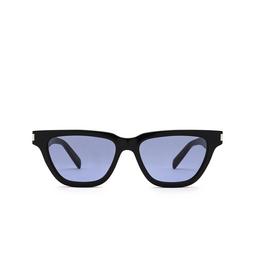 Saint Laurent® Cat-eye Sunglasses: Sulpice SL 462 color Black 010.