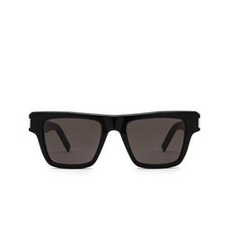 Saint Laurent® Rectangle Sunglasses: SL 469 color Black 001.