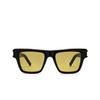 Saint Laurent® Rectangle Sunglasses: SL 469 color Black 004 - product thumbnail 1/3.