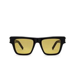 Saint Laurent® Rectangle Sunglasses: SL 469 color Black 004.