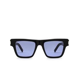 Saint Laurent® Rectangle Sunglasses: SL 469 color Black 005.