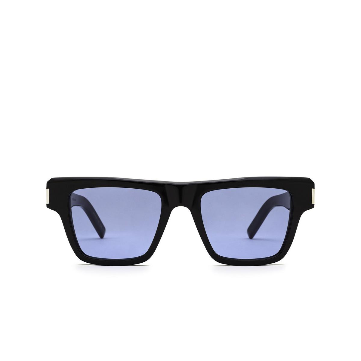 Saint Laurent® Rectangle Sunglasses: SL 469 color Black 005 - front view.
