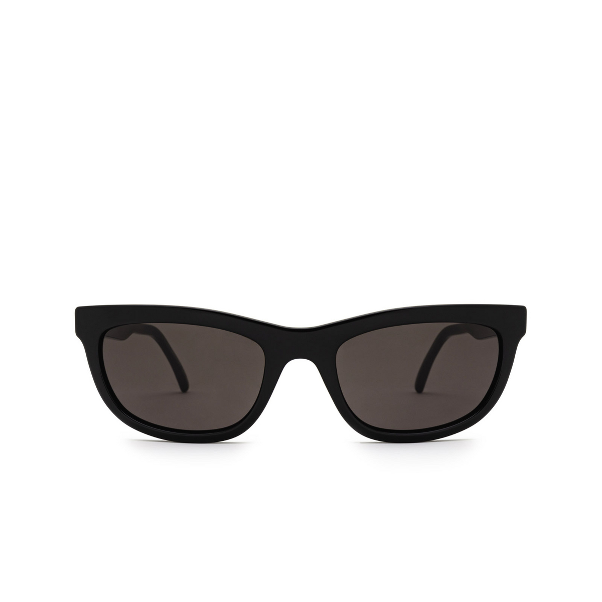 Saint Laurent® Cat-eye Sunglasses: SL 493 color Black 001 - front view.