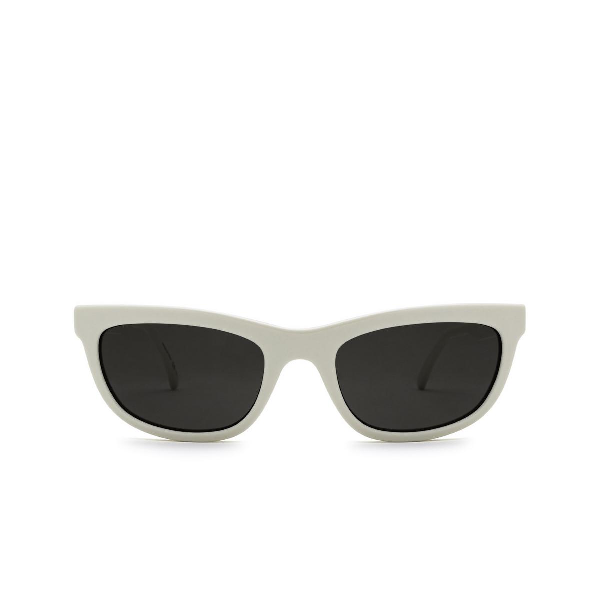 Saint Laurent® Cat-eye Sunglasses: SL 493 color Ivory 004 - front view.