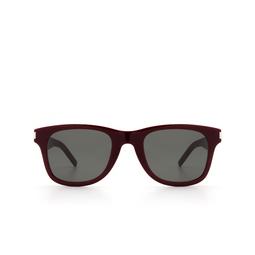 Saint Laurent® Sunglasses: SL 51-B SLIM color Burgundy 004.